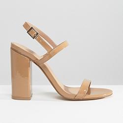 ASOS sandales nude