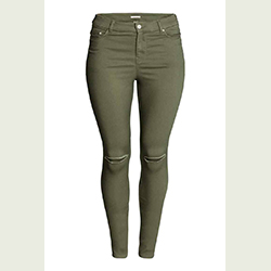 H&M pantalon stretch