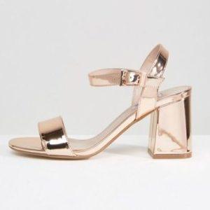 ASOS sandales rosé
